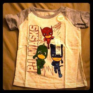 PJ Masks tee shirt, size 2T
